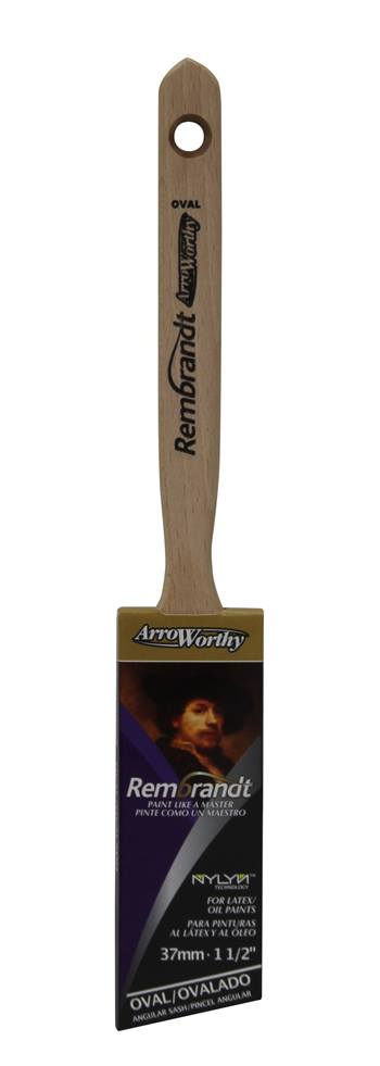 Arroworthy Rembrandt Angled Cut Brush