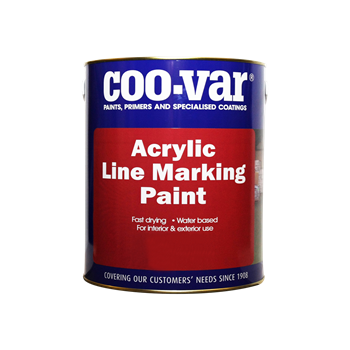 COOVAR ACRYLIC LINE MARKING PAINT YELLOW