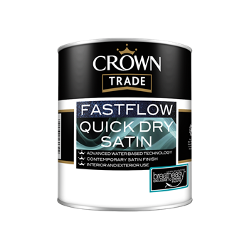 Crown Trade Fastflow Quick Dry Satin