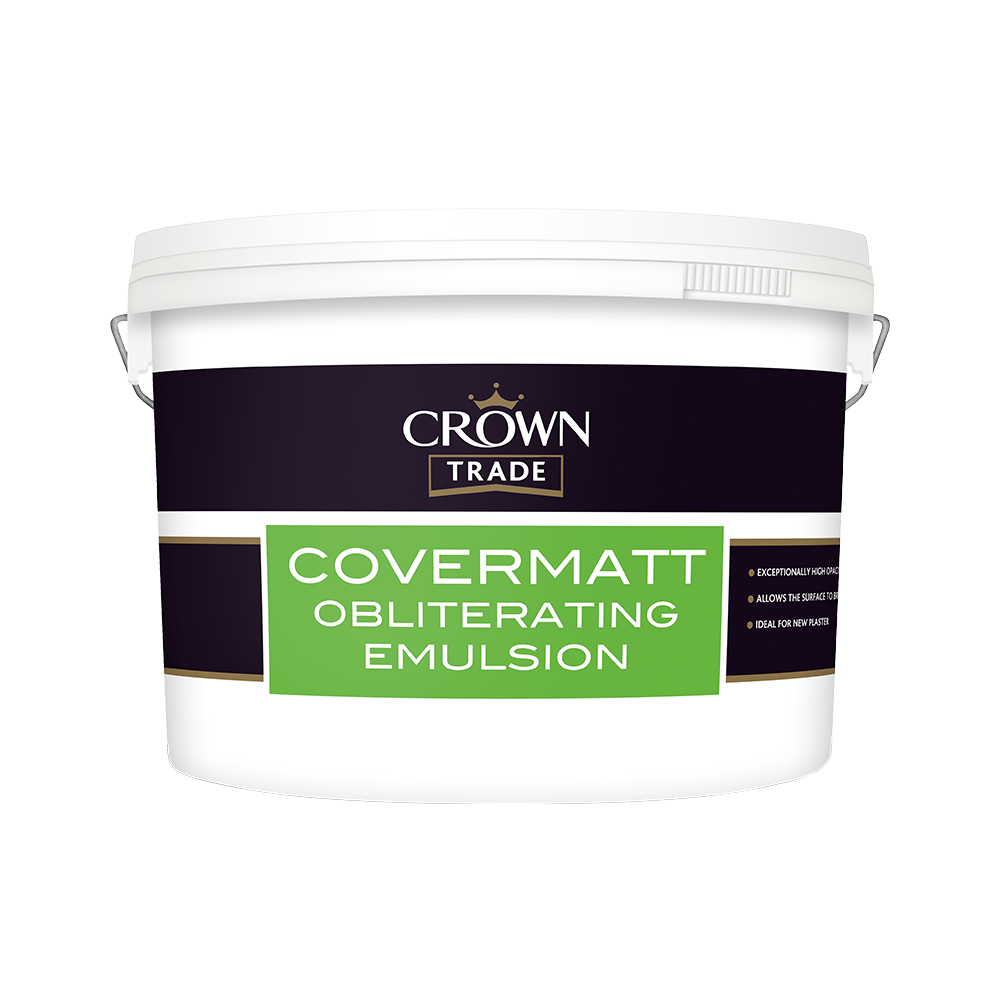 Crown Trade Covermatt Obliterating Emulsion