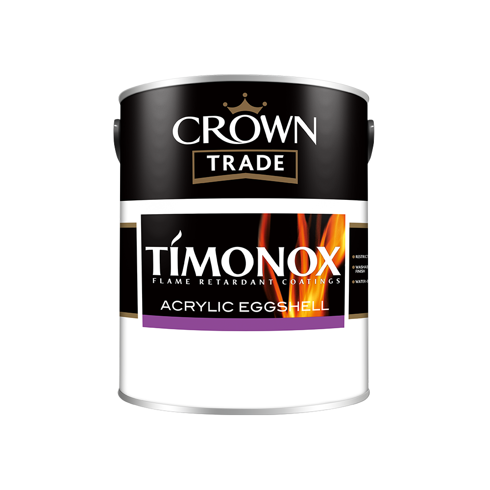 Crown Trade Timonox Acrylic Eggshell