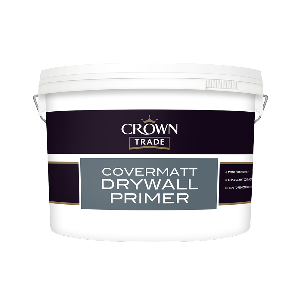 Crown Trade Covermatt Drywall Primer