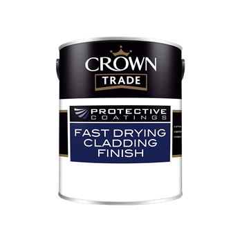 Crown Trade Protective Coatings Fast Drying Cladding Finish