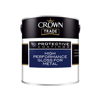 Crown Trade Protective Coatings High Performance Gloss for Metal