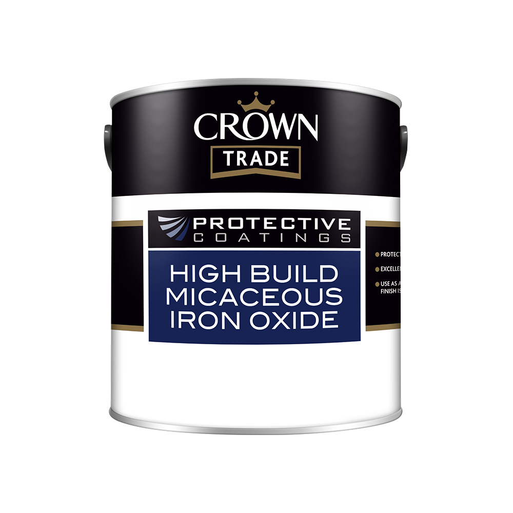Crown Trade Protective Coatings High Build Micaceous Iron Oxide
