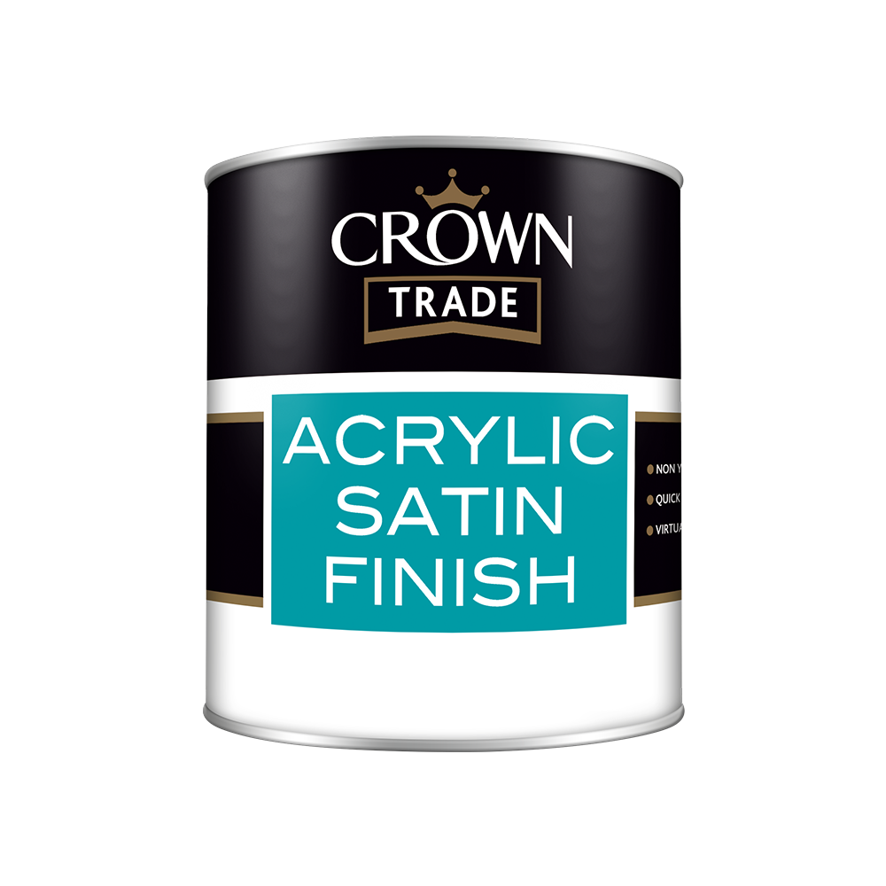 Crown Trade Acrylic Satin Finish
