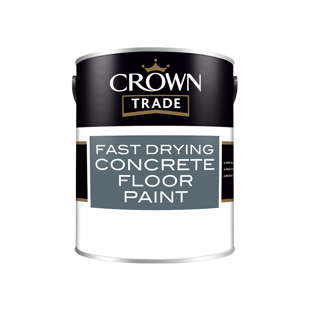 Crown Trade Fast Drying Concrete Floor Paint