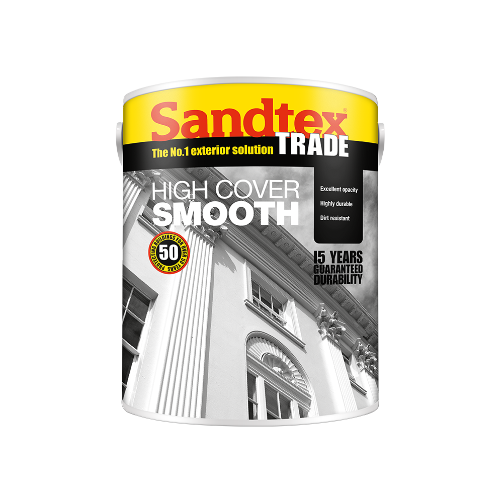 Sandtex Trade High Cover Smooth | Masonry