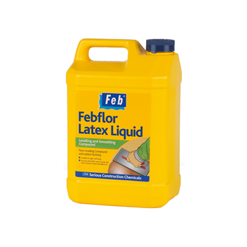 EVERBUILD FEBFLOR LATEX LIQUID