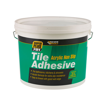 EVERBUILD READY MIXED TILE ADHESIVE 10L OFF WHITE