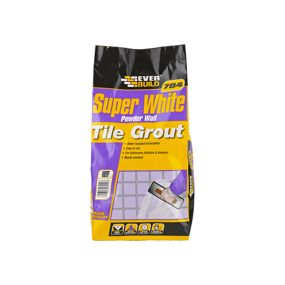 EVERBUILD SUPER WHITE GROUT