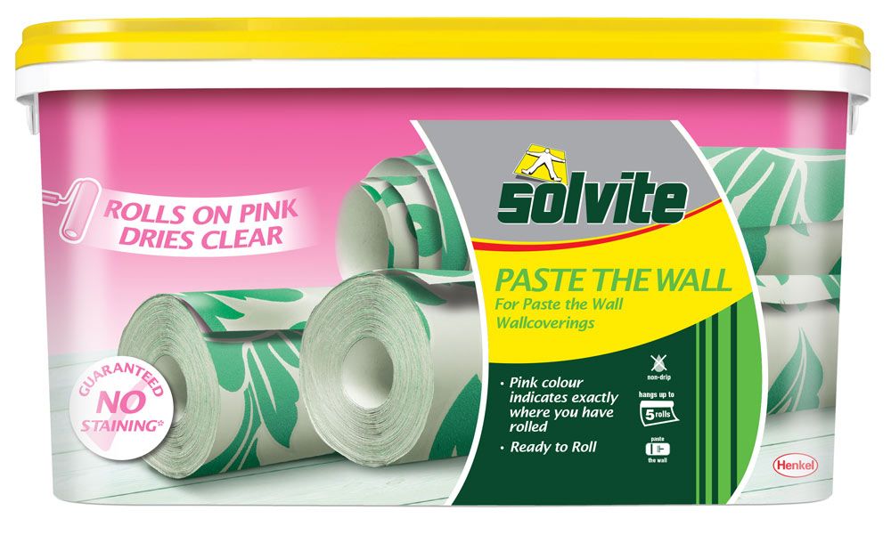 Solvite Paste The Wall Ready Mixed