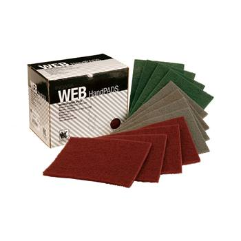 INDASA WEB HANDPADS RED VERY FINE