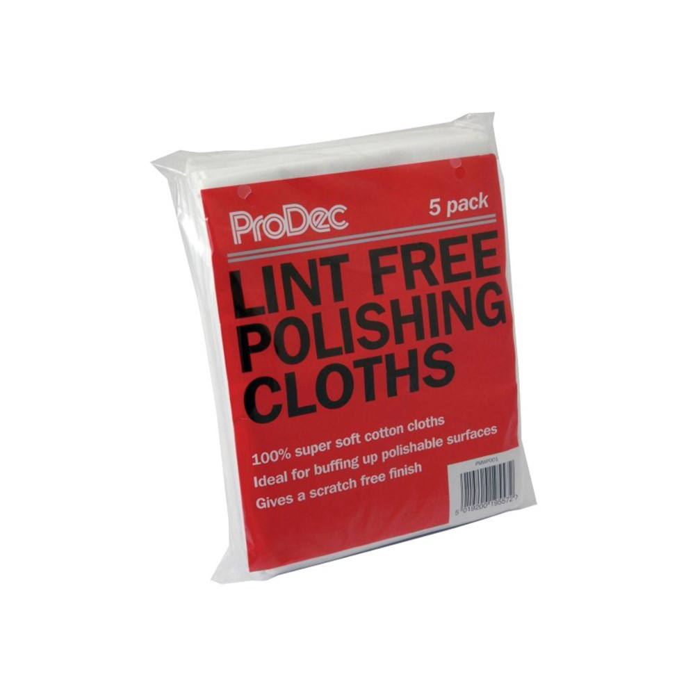 Lint Free Polishing Cloths