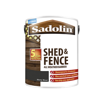 Shed and Fence