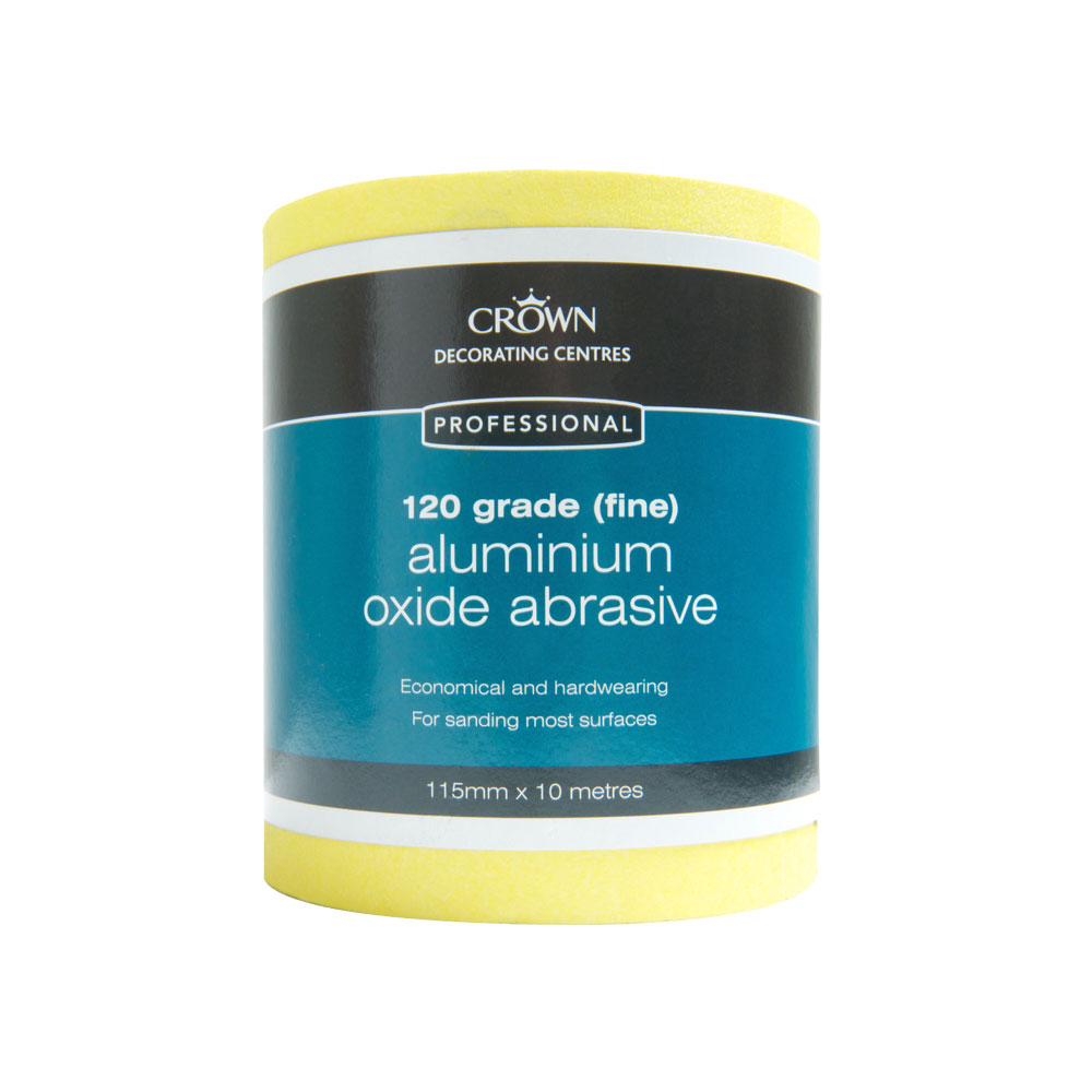 Crown Decorators Choice General Purpose Sanding Paper 10m Roll