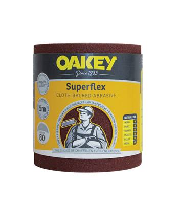 Oakey Superflex Cloth Roll 5m