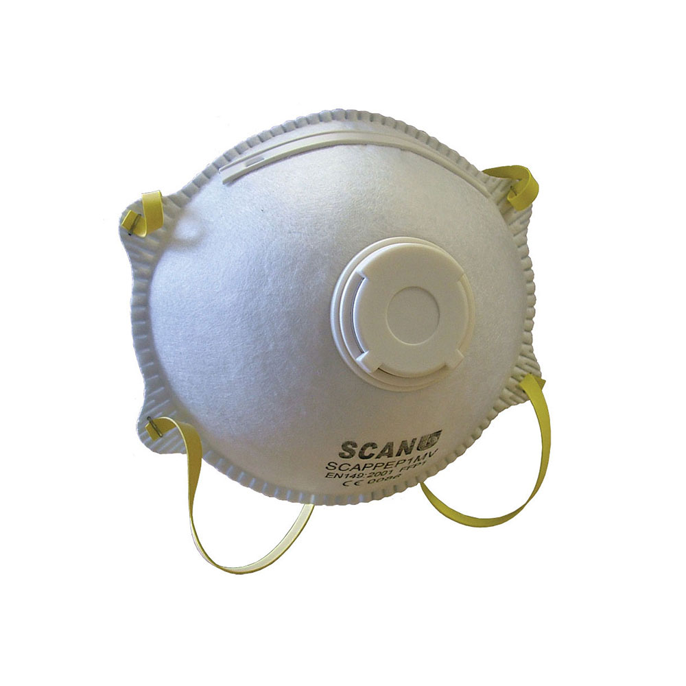 SCAN MOULDED VALVED DISP MASK