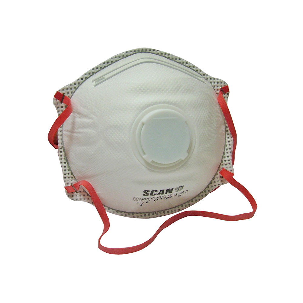 SCAN MOULDED VALVED DISP MASKS